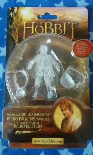 The Hobbit Invisible Bilbo Baggins action figure. New. 2012