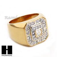 Men Bling Bling Iced Out Hip Hop Lab Diamond Ring Size 8-12 Sr022cl