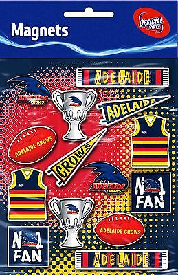 Adelaide Crows AFL Magnet Sheet * 14 Magnets Per Sheet