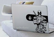 Deadpool V2 Decal Sticker Skin Macbook Pro Air Laptop 11 12 13 15 17 inch S-F243
