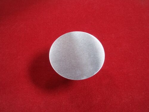 Round ALUMINIUM DISCS choose 8mm upto 108mmØ x 2mm thick CIRCLES NoBurrUK NEW