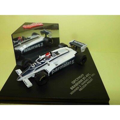 Amichevole Brabham Bt-49c Gp De S. Marin 1981 N. Piquet Quartzo Qfc99049 1:43 Pas De Vitrin Calcolo Attento E Bilancio Rigoroso
