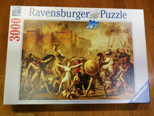 Puzzle Ravensburger 3000 Piezas El Rapto De Las Sabinas Jacques Louis David New