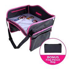 item 7 Pink Kids Travel Tray- Bonus Pencil Bag -Toddler Car Seat Activity  Organizer -Pink Kids Travel Tray- Bonus Pencil Bag -Toddler Car Seat  Activity ... abd326bdf8