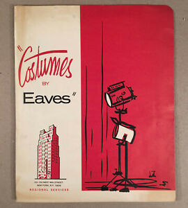 c-1960s-Theatrical-COSTUMES-BY-EAVES-New-York-City-Folder-with-Catalog-Forms