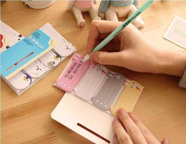 2015 To Do List Sticker Bookmark Marker Memo Flags Index Tab Sticky Note GOCA