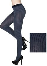 Women's Yelete Killer Legs Fashion Pantyhose Tights with Seismic Lines One Size.