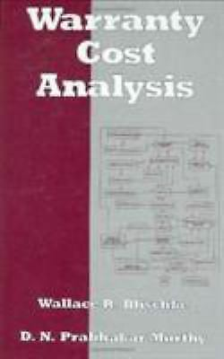 Warranty Cost Analysis, , Acceptable Book