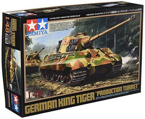 TAMIYA 1 48 German King Tiger Production Turret Model Kit NEW from Japan