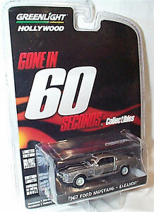Details about  /Gone In 60 Seconds Eleanor 1967 Ford Shelby GT500 Mustang 1//64 Collectible Model