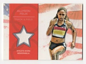 2012-Topps-USA-Olympic-Team-Relics-Allyson-Felix-Track-and-Field-Gold-Medalist