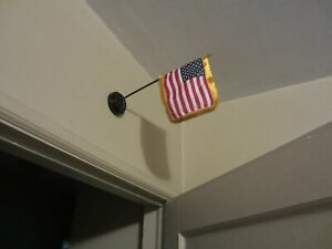 Wall Mounted USA Hero Flag