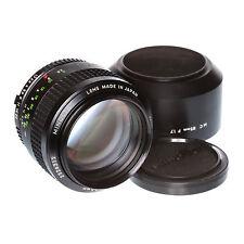 Minolta MC Rokkor 85mm 1:1,7 Teleobjektiv/Portraitobjektiv vom Händler