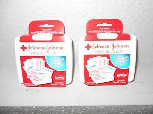 Johnson & Johnson Two Mini First Aid Kits