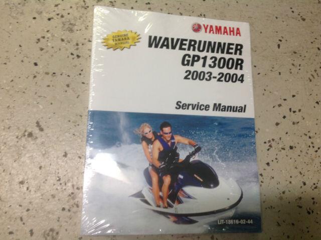 2003 2004 Yamaha Waverunner Gp1300r Gp 1300r Shop Service