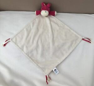 Jellycat-Chime-Chums-Pony-Soother-Comforter-Soft-Toy-Baby-Pink-Red-Horse-Taggy