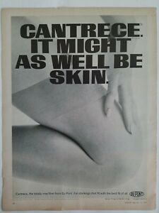 1967-Dupont-Cantrece-las-Medias-Medias-Vintage-Pierna-Moda-Anuncio