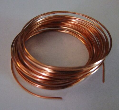 18 GA SQUARE COPPER PRO CRAFT WIRE 7 YARDS