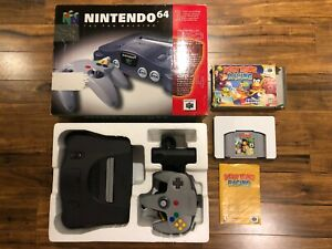 Nintendo-64-N64-Console-System-Complete-in-Box-w-Diddy-Kong-Racing
