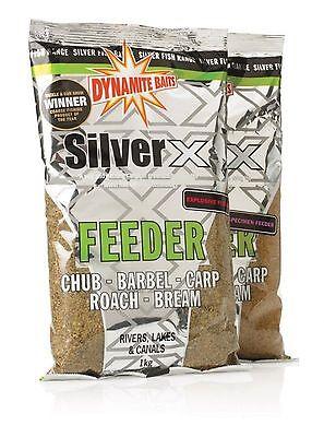 5kg or 10kg Dynamite Silver X Explosive Feeder Groundbait