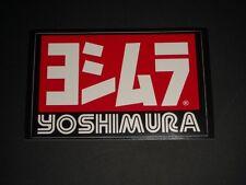 Yoshimura Adesivo Decalcomania Scarico Race GP Moto Bapperl Adhesivo Logo 10Z