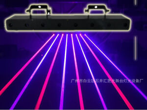 2400mW Red Blue beam scan laser light Club DJ Disco Xmas Party stage