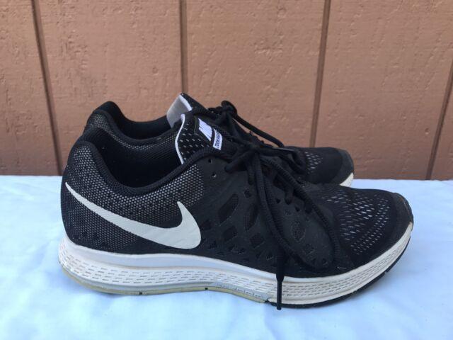 1b541171834e6 ... buy nike air zoom pegasus 31 womens us 9.5 running shoe black white  654486 010 150