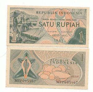 Indonesia-1-rupia-1961-FDS-UNC-pick-78-rif-3842
