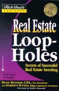 Real Estate Loopholes: Secrets of Successful Real Estate Investing (Rich  - GOOD