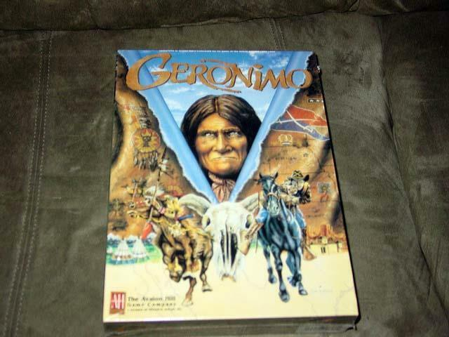AH Avalon Hill - GERONIMO - 1800's US Cavalry & Indian Wars - 1850-1890  SEALED