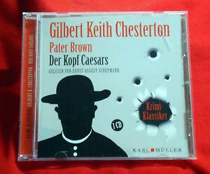 Pater-Brown-Der-Kopf-Caesars-Gilbert-Keith-Chesterton-Hoerbuch-CD