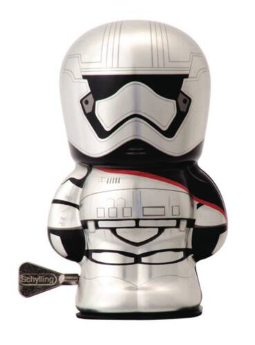 STAR WARS FORCE AWAKENS CAPTAIN PHASMA BEBOT WINDUP TIN TOY #soct16274