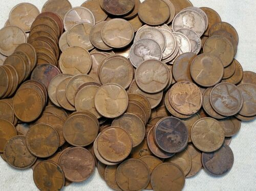 Details about  / 10 Roll lot of Lincoln Wheat Pennies