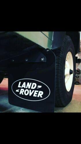 Landrover Defender 90 frontal Mud flaps.