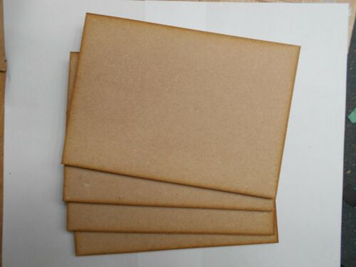 A5 size for pyrography MDF sheets 6mm thick X 4 crafts,modelling