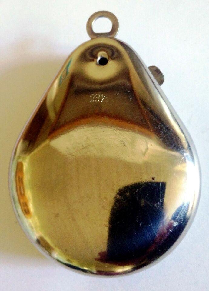 Ure, Lommeur fra 1930erne med værk der virker sølv
