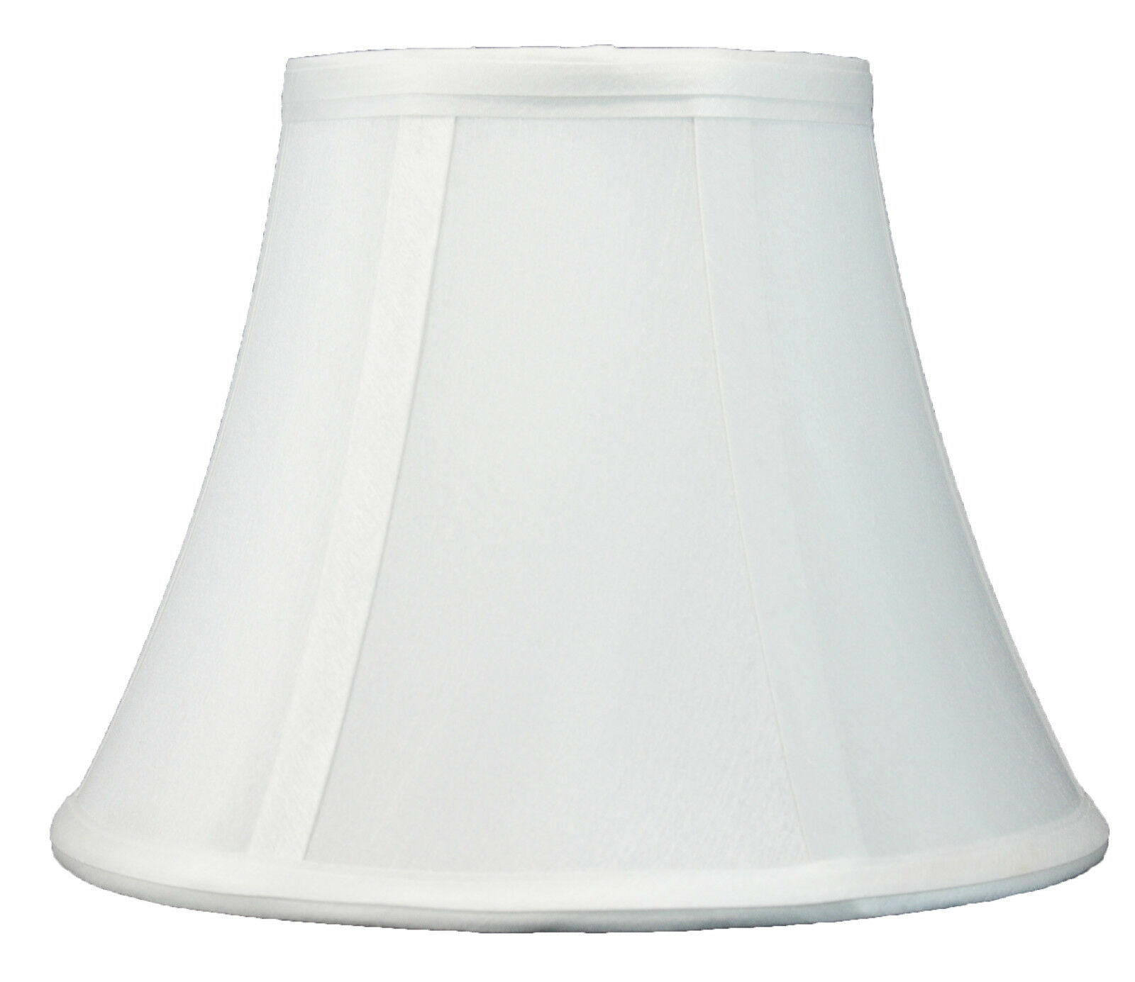 """Spider Fitter Urbanest Softback Bell Lamp Shade,5/""""x9/""""x7/"""",Faux Silk 6 Colors"""