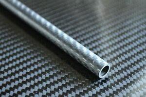 Carbon Fiber Tube Twill 0.415 x 0.487 x 58 inch (Sanded Smooth)