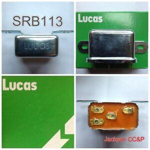 LUCAS-srb113-Interruptor-Rele-Para-Land-Rover-amp-MG