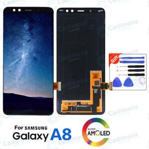 Pour-Samsung-Galaxy-A8-2018-A530-OEM-LCD-ecran-tactile-numeriseur-assemblee-Lot