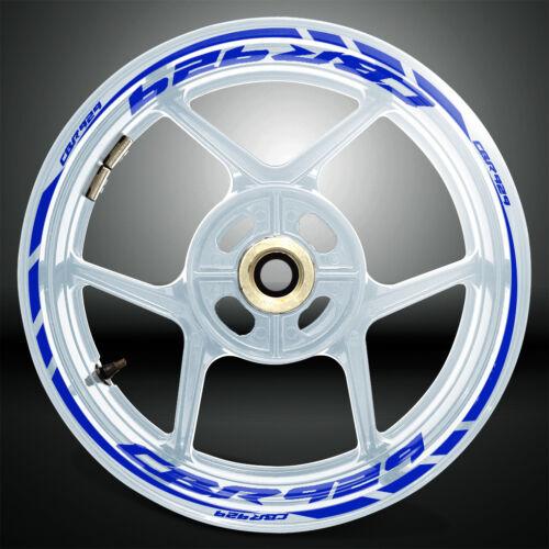 Motorcycle Rim Wheel Decal Accessory Sticker for Honda CBR 929