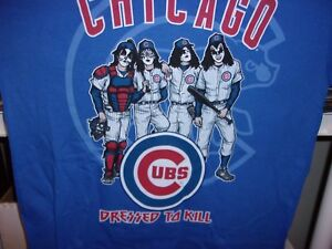 8dd86e48662 Image is loading CHICAGO-CUBS-VINTAGE-DRESS-TO-KILL-TEE-SHIRT-