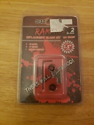 """Details about  /Dead Ringer Rampage 2 Blade Replacement Blades for 1.5/"""" Blade"""