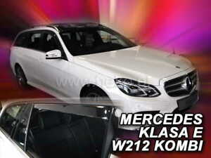 Mercedes-Clase-E-W212-2009-2016-Estate-viento-desviadores-4-pc-Set-Heko-23289