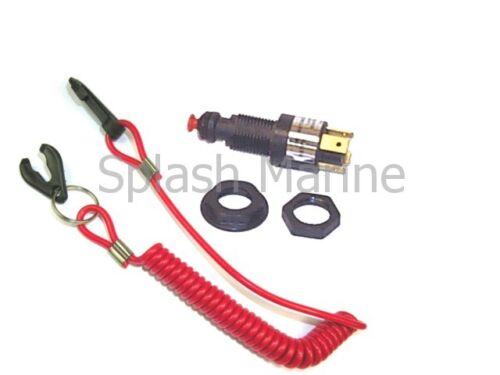 Wasserdicht /& Motor Notfall Abstechwerkzeug Schalter Außenbordmotor
