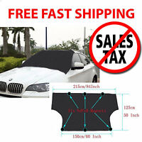Car Windshield Snow Waterproof Magnet Cover Protect Sunshade Frost Ice Protector