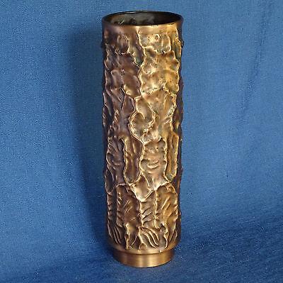 Dekorative Kupfervase Handarbeit 24 cm