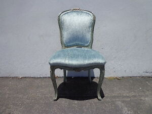 French-Chair-Vanity-Seating-Italian-Country-Provincial-Hollywood-Regency-Stool