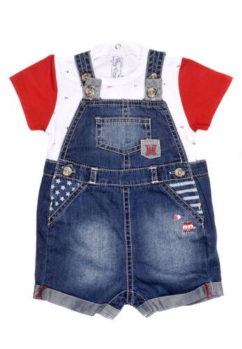 Spanish Designer MAYORAL Baby Boys 2 Piece Denim Summer Set WAS £35 NOW £17.50