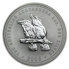 2006 Australia 1 oz Silver Kookaburra BU - SKU #11419